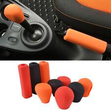 1PC For Benz Smart Silicone Gear Head Shift Knob Cover Handbrake Case Fortwo