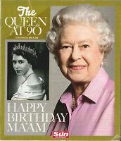The Sun : Reine Elizabeth II 90th Célébration Anniversaire Souvenir Magazine