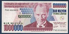 TURQUIE - 1000000 LIRA Pick n° 209. de 2000. en NEUF   P85600963