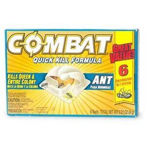 Combat Quick Kill Formula Bait Stations for Ants, 6 Ct