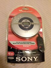 NEW SONY WALKMAN PORTABLE CD PLAYER DFJ-200