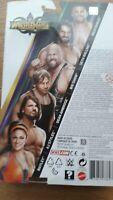 WWE Mattel Wrestlemania 34 Figures-Mojo,Rollins,Big Show,AJ,Bayley,Ambrose