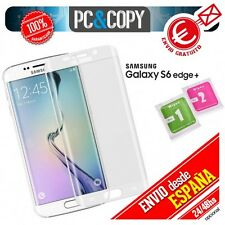 Protector pantalla curvo blanco completo Samsung Galaxy S6 edge PLUS 3D SM-G928F