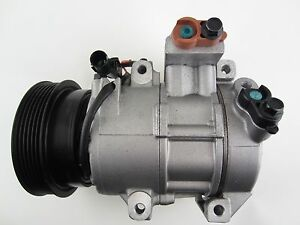 AC A/C Compressor w/ Clutch Denso Remanufactured for Kia Rondo 2007-2010 2.7L