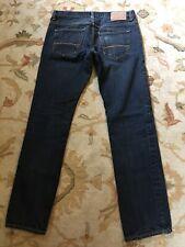 Mens Slim Straight Aeropostale Jeans Dark Wash Tag 30x32 Measures 32x31 Nice