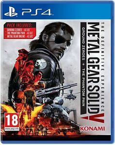 Metal Gear Solid V 5 The Definitive Experience * PlayStation 4 PS4 * New Sealed