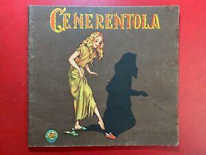 CENERENTOLA Ed. Gino Conte Rosa d'oro/13 (SD Anni '50) Libro illustrato
