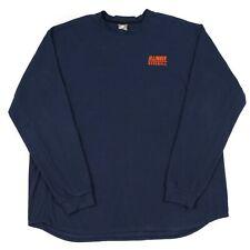 Vintage NIKE Fleece Sweatshirt   Men's XL   Jumper Sweat Retro Illinois Baseball