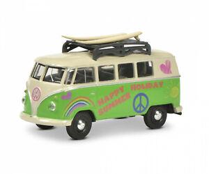VW T1 Bus Surfer Type No. 452022800, Schuco Modèle Auto 1:64
