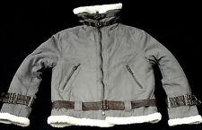 Garçons BURBERRY LONDON en cuir mélangé Sports parka anorak veste manteau 12 ans