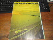 Prospekt Salesbrochure The Airstream Story Wohnwagen Wohnmobil Motorhome Camping