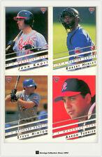 1995 Futera Australia Baseball Card ABL Base Card Full Set (110)