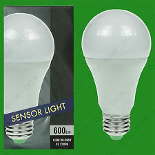 6.5W LED GLS Dusk Till Dawn Sensor Security Night Light Bulb, E27 Lamp 90 - 260V