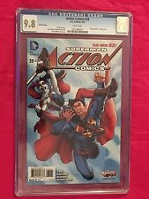 ACTION COMICS #39 CGC 9.8 New 52 Superman Harley Quinn