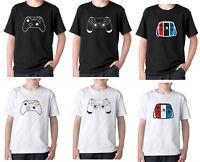 3f97ff6b9 Play station PS4 Xbox one Switch console gamer T shirt Fan art logo birthday