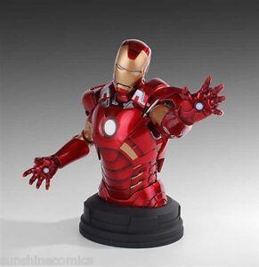 Gentle Giant Avengers Iron Man Deluxe Mini Bust 687/1650 Marvel NEW SEALED