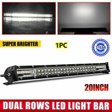 "300W 22''INCH 120W LED Work Light Bar Spot Offroad Pickup Bumper SUV UTE 20"" 12D"