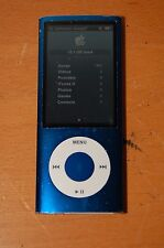 Blue Apple iPod Nano 5th Generation A1320 16GB