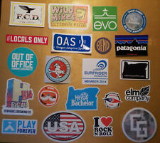 21 diff Outdoor Product Ski Snowboard Hiking Climbing Stickers - as pictured
