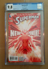 SUPERMAN 38 CGC 9.8 JOHN ROMITA JR 1:100 VARIANT NEW POWER SOLAR FLARE DC COMICS