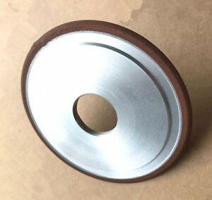 "125mm / 5"" Straight 32mm Hole Arc Diamond Grinding Wheel Select Radius Grit"