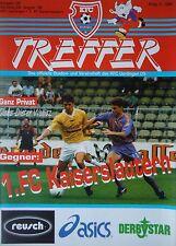 KFC Uerdingen Programm 1995//96 SG Eintracht Frankfurt