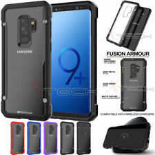 For Samsung Galaxy S9, S9 Plus Tough Hybrid Shockproof Hard Back Case Cover