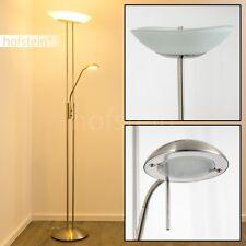 LED Decken Fluter Leuchte Büro Steh Stand Lampe Lese Wohn Esszimmer mit Dimmbar