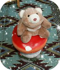 Vintage 1980 Gund Teddy Bear Plush Stuffed Animal Toy