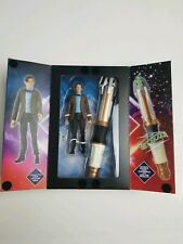 Dr Who 11th Doctor And Electronic Screwdriver Bbc Collector Figure