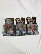 RESIDENT EVIL 2  ACTION FIGURES COMPLETE SET MOC TOYBIZ CAPCOM 1998 5 FIGURES