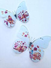4 Winnie The Pooh Tigger Eeyore Piglet Babies 3D Wall Sticker Butterflies Gift