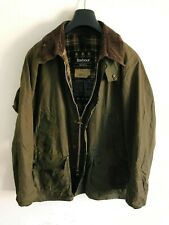 Mens Barbour Bedale wax jacket Green coat 44in size Large / Extra Large L/XL #2