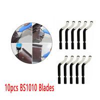 10Pcs Utensile sbavatura per fori manico lame Sbavatore a mano BS1010 S10 Nuovo