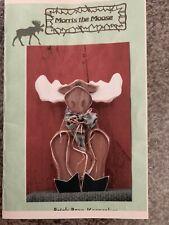 "Wood Craft Pattern ""Morris The Moose"""