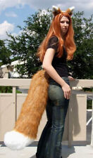 HORO RUST RED SPICE AND WOLF EARS LARGE TAIL cosplay HALLOWEEN COSTUME HOLO FOX