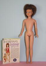 Vintage 1964 Brunette SKIPPER DOLL #950 No green, no splits, no nips, JAPAN 1st