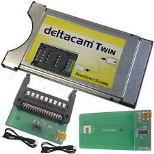 ► SET Deltacam Twin 2.0 CI Modul + USB Programmer sofort Einsatzbereit NEU