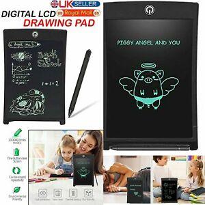 "8.5"" Electronic Digital LCD Writing Drawing Pad Tablet Graphics Board eWriter UK"