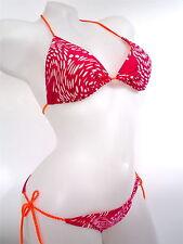 Adidas  schöner Grafik  TR Bikini 2PC Badeanzug  vivberry pink rot   44   Neu