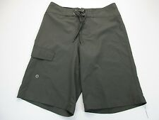 *MOSSIMO* SIZE 30 MEN'S GRAY UNLINED SWIMMING SHORTS W/POCKET