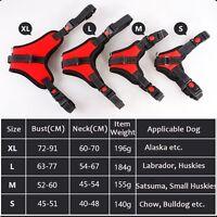 Pet Dog Cat Collar Adjustable Harness Chest Strap Belt PU Leather BlingSparkling
