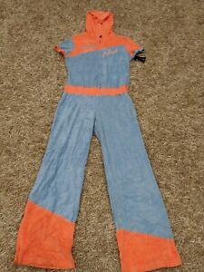 Vintage 90's Baby Phat Blue & Orange  One Piece Sweatsuit Size XL