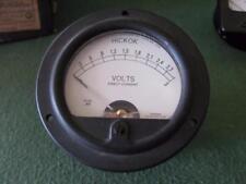"""Hickok 3 volt DC  panel meter type 46 tube tester? 3 1/2 """""""