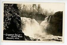Copper Falls State Park RPPC Mellen WI Vintage Photo EKC ca. 1930s
