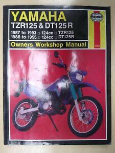 Haynes Workshop Manual - Yamaha TZR125 1987-1993 DT125R 1988 - 1995
