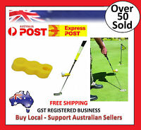 Golf Putter / Putting Training Aid - Tempo Tray - Trainer - Swing - Practice -