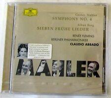 MAHLER G. / BERG A. - SYMPHONY 4 / SIEBEN FRUHE LIEDER - ABBADO - CD Sigillato