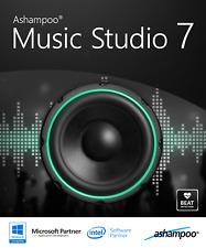 Ashampoo Music Studio 7 Lifetime - ORIGINAL LICENSE KEY!!! DO NOT ACCEPT COPIES