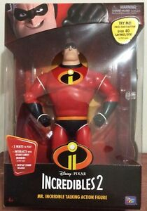 The INCREDIBLES 2 Mr. Incredible Talking Action Figure by Disney Pixar 13 Inch